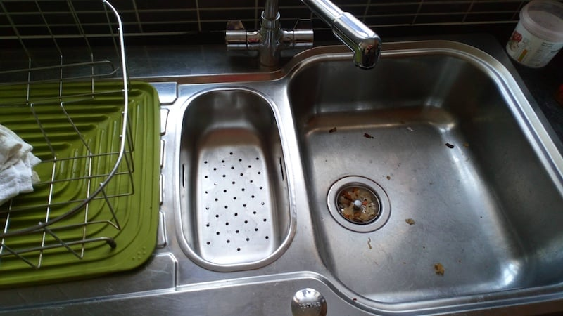 sink before/after