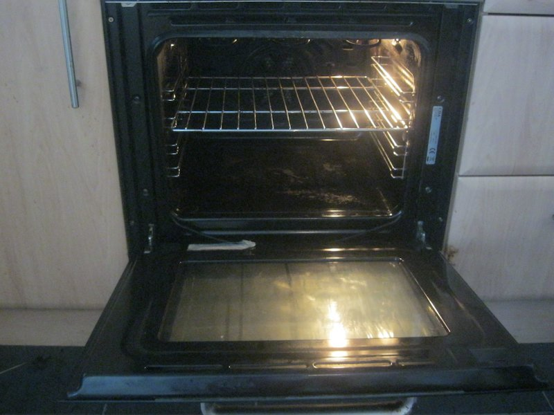 oven before/after